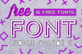 Please avoid posting spoilers directly in the title! Free Font Bundle Vol 5 Bundle Creative Fabrica