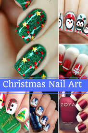Glamorous Christmas Nail Art Ideas For 2017