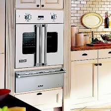 30 inch single french door wall oven