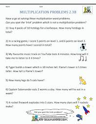 Math Word Problems 2ndade Worksheets Free Printable Introductory ...