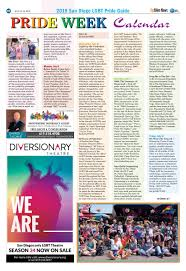 2019 San Diego Lgbt Pride Guide And Directory July 12 142019