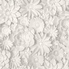 3D Effect Floral Wallpaper Flowers ...