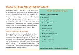 sea tech curriculum small business entrepreneurship