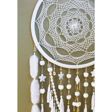 Dream Catcher To Buy Beauteous White Lullaby Oversized Dreamcatcher The Block Shop