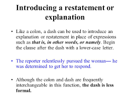 Colons semicolons dashes College paper Academic Writing Service ...
