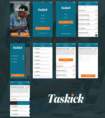 design freelancer entry 56 by salasdesign1 for design a task freelance app mockup