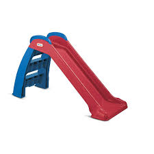 little tikes red blue first slide
