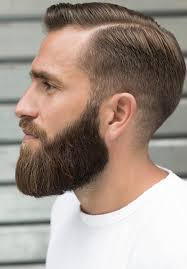 Coiffure Homme Court Avec Barbe