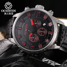 mens watches promotion shop for promotional mens watches ochstin new 2017 sport watches military army watch men luxury brand leather waterproof male clock hour relogio masculino
