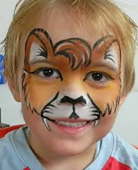 face paintings lion face painting