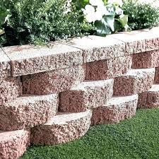 retaining wall block ideas retainer blocks beautiful ine