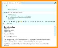 Subject Line Email Resume Brilliant Ideas Of Resume Email Subject