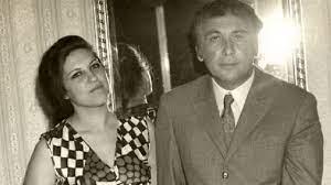 نزار قبانى مع زوجته بلقيس التي قتلت ورثاها بأجمل قصائده ولم يتزوج بعدها -  YouTube