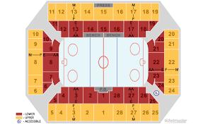 Floyd L Maines Veterans Memorial Arena Seating Chart Tickets Binghamton Devils Vs Toronto Marlies Binghamton