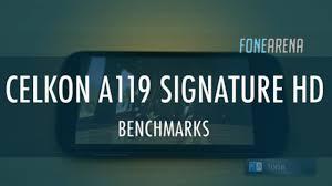 Celkon A119 Signature HD Benchmarks ...