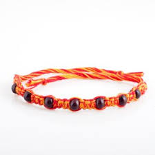 Buy Ellegent Exports Brown Beads Sandalwood Rakhi Online Get 72 Off