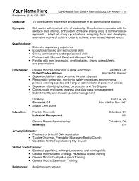 Warehouse Resume Sample Resume Templates