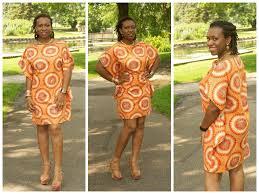 Ootd Diy Short Printed Ankara Kaftan Dress Cocozini