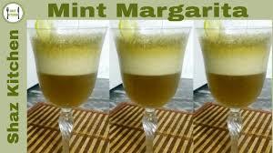 mint margarita recipe in urdu hindi how to make mint margarita slush mint lemon drink mint soda