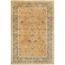 home decorators collection menton gold blue 10 ft x 14 ft area rug