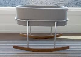rockwell modern bassinet  baby nursery furniture by monte design