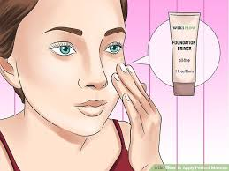 image led apply perfect makeup step 1