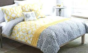 navy blue and yellow bedding bed linen amazing black white grey chevron crib mustard