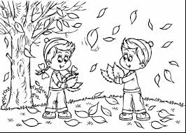 Small Picture Fall Coloring Pages For Preschoolers Free Fall Coloring Pages For