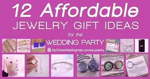 wedding gift jewelry affordable party 35th anniversary