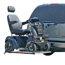 wheelchair lift for car. A Mobility Scooter Lift Mounted Outside The Vehicle Wheelchair For Car