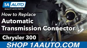 how to replace install automatic transmission wire harness Transmission Harness Wires how to replace install automatic transmission wire harness connector 2005 07 chrysler 300 transmission wire harness