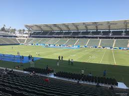 La Chargers Seating Chart Dignity Health Sports Park Section 108 Los Angeles
