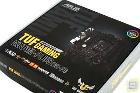 Обзор <b>материнской платы ASUS TUF</b> Gaming B550M-Plus WiFi ...