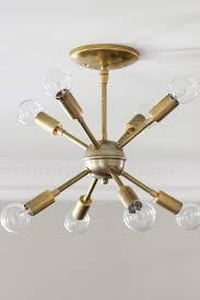 Sputnik Style Lighting Bedroom Breathtaking Sputnik Light Fixture For Sparkling