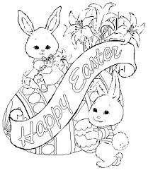 Printable Easter Coloring Pages Pdf Free Coloring Pictures Homey