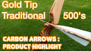 Goldtip Traditional Carbon Arrow Product Highlight