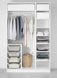 ikea white pax closet