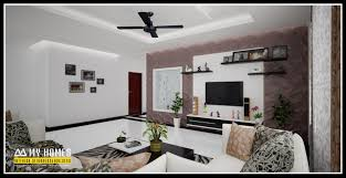 latest trends living room designs in kerala india 3d designs home interior