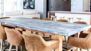 zinc dining table inspiring tables room indore round india