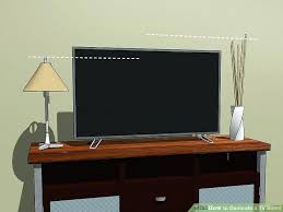 image titled decorate. Image Titled Decorate A Stand Step 1 Tv Pictures Wooden Pics T