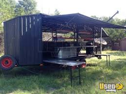 Vending Machine Trailer Awesome 48' BBQ Trailer For Sale In Texas Food Trucks Concession