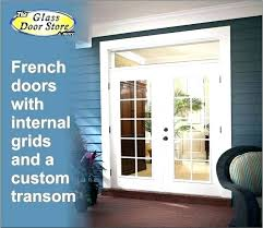 french door sidelights lite mahogany glass