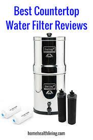 best countertop water filter review