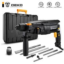 GJ181 220V 26mm 4 Functions AC Electric Rotary Hammer with ...