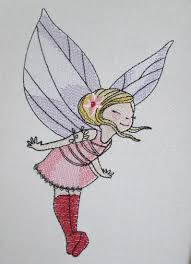 Embroidery Fairy Designs Flower Fairy Machine Embroidery Design Embroidery Flower