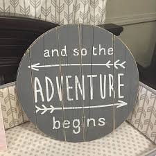 and so the adventure begins wall art for nurseries on diy baby boy wall art with 112 best baby boy images on pinterest child room breastfeeding