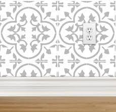 grey moroccan wallpaper 750x721