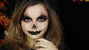 jack o lantern easy makeup tutorial