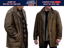 dean winchester supernatural leather jacket with distressed look is available at fit jackets for 169 with free and gifts cyber moday