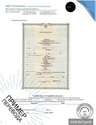 Certified And Notarized Translation For New York D T Translations